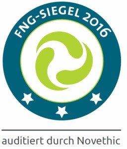 FNG Siegel Nachhaltige Geldanlagen 2016